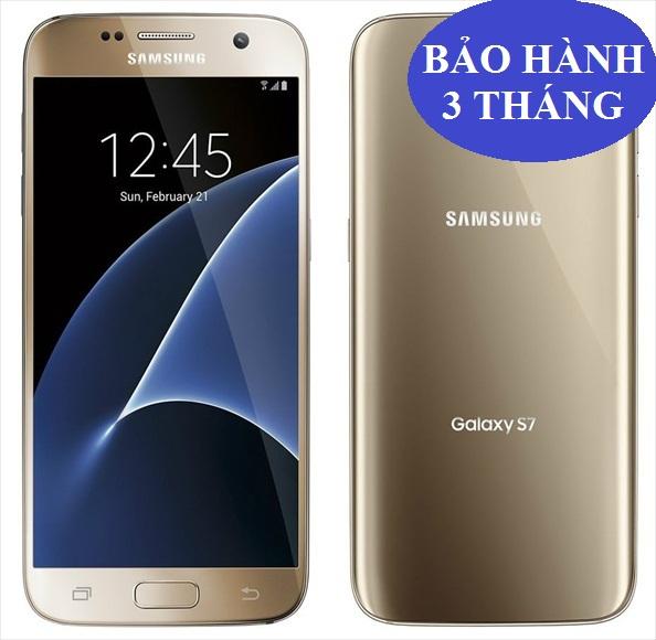 Samsung Galaxy S7 Edge  Gold  2 sim G935FD bản 32GB , máy đẹp 99% .