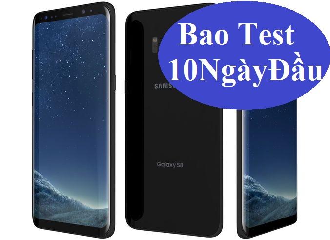 Samsung Galaxy S8 2 sim hàng CTy 64Gb Midnight Black Bh chính hãng 4/5/2018,hình thức đẹp 99% FullBox.