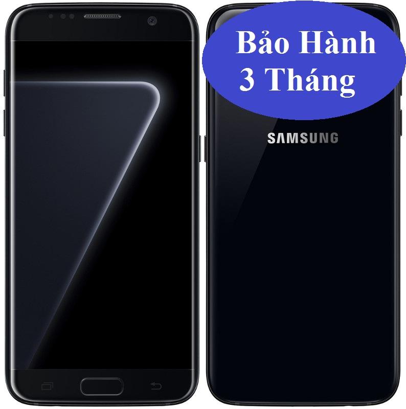 S7 edge Black Pearl 128Gb 2 sim bản Qte G9350 hàng Xtay đẹp 99% có sạc,cáp,tai nghe.