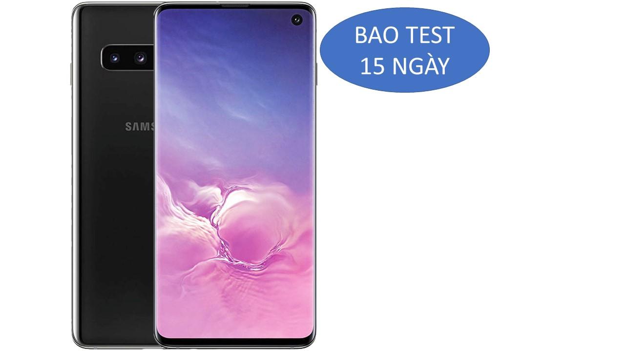 Samsung S10 G973F/DS mầu đen hàng công ty cò bảo hành rất dài
