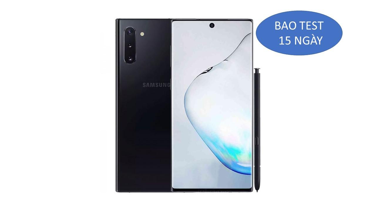 Samsung Note 10 Aura Black hàng Cty full box. máy đẹp suất sắc. còn bh dài