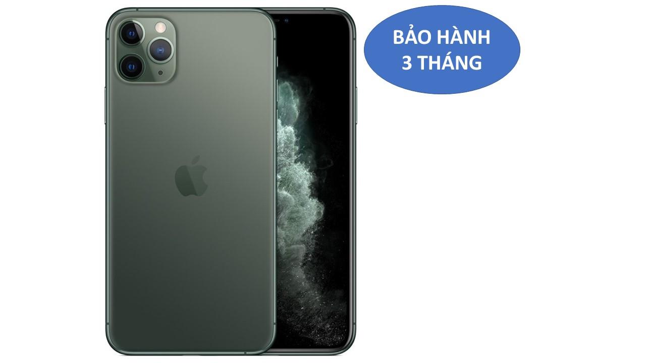 Iphone 11Pro Max bản QT Mỹ 64G máy mầu xanh